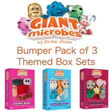 Giant Microbes Bumper 3 Themed Box Sets Blind Date, Tainted Love, Lets Get It On