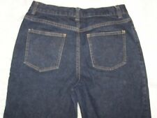 Womens Identity by Lord & Taylor Boot Cut Blue Denim Jeans 8 Distressed EUC