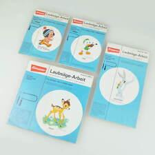 Graupner Laubsäge-Arbeit - Hase Bugs Bunny Trick Bambi Klein-Adlerauge Disney