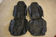 1994-1996 C4 Corvette Synthetic Leather Black Standard Seat Covers