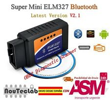 ELM327 Bluetooth Auto Car Diagnostic Scanner Bluetooth OBDII ELM 327 V2.1 OBD2