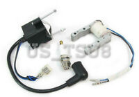 CDI Ignition Coil Spark Plug Magneto 50cc 66cc 80cc Engine Motorized Bike  E4