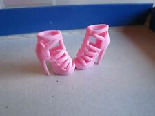 Barbie 2 pink Heart Shoes for Fashionistas Closet high heels doll fashion toy