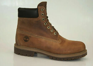 Timberland 6 Inch Premium Bottes Imperméable Chaussures Hommes à Lacets 27094