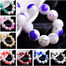 Wholesale 30pcs 10mm Round Glass Charms Loose Spacer Beads DIY Findings
