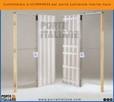 Controtelaio a SCOMPARSA per porta scorrevole interno muro