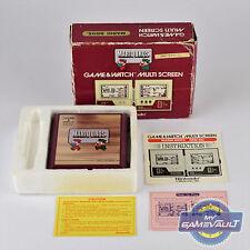 Nintendo GAME & WATCH Boxed MARIO BROS. MW-56 Multi Screen 1983 Handheld Game