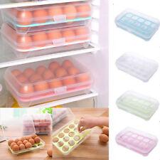 Eierbox Eierdose Eier Kühlschrank Aufbewahrung Eier Vorratsdose Behälter für 15