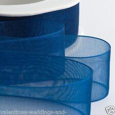 Card Making/craft Organza Ribbon Reels X 8