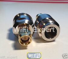 N Type Female Jack to SMA Male Plug straight RF adapter connector USA