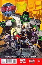 The Secret Avengers #7 (NM)`13 Spencer/ Guice/ Epting