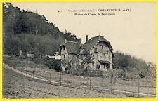 cpa 78 - CHEVREUSE (Yvelines) Croix de SAINT LUBIN MAISON De CHASSE
