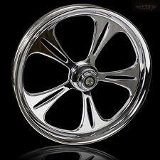 "Harley Davidson Road Glide 21"" Inch Custom Chrome Front Wheel ""The Raptor"""