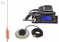 CB STARTER KIT TTI TCB-555 CB RADIO CB ANTENNA SPRINGER ORANGE + MAGNETIC BASE