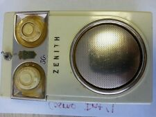 Zenith Royal 500D DeLuxe Long Distance Transistor Radio Still Works See Pictures