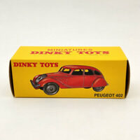 DeAgostini Dinky Toys 24K Peugeot 402 Red Diecast Models Limited Collection 1:43