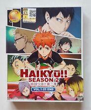 Anime DVD Haikyuu!! Haikyu!! Season 2 Vol. 1-25 End ENG SUB All Region FREE SH'