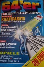 64er (64´er) 03/91 März 1991 C 64 Commodore (Module, Geos, Spiele)