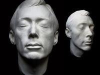 Dick Smith Life Mask Academy Award Winning Make-Up Artist Exorcist The Godfather
