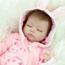 bbdf0f7276ca5 REALISTIC REBORN DOLLS BABY LIFELIKE SLEEPING SOFT VINYL FAKE BABIES  NEWBORN TOY