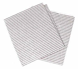 Clay Roberts Grease Cooker Hood Filters, Pack of 2, Cut to Size, Vent Filters