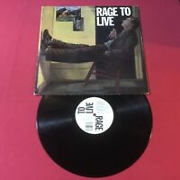 Rage To Live ‎– Rage To Live  Vinyl:Bar/None Records ‎– A-HAON 001 (VG+) Copy
