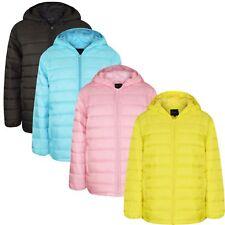 Winter Kids Boys Girls Unisex Hooded Warm Puffer Coat Jacket Outerwear 2018 Wear