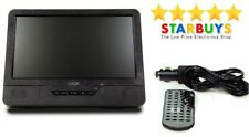 """9"""" Inch Single Screen Portable DVD Player 12V Volt Rechargeable with Remote *U*"""