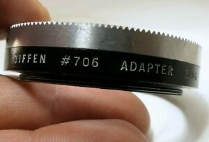 TIFFEN #706 49mm to 54mm thread series 7 VII Filter Retaining Ring screw n
