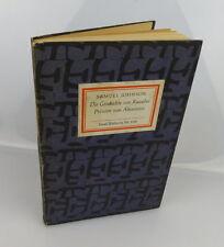 Isla biblioteca pública: inselbüchlein nº 838 Historia de Rasselas príncipes bu0500