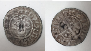 Medieval Hammered EDWARD Silver Long Cross Penny Civitas LONDON HRCL2