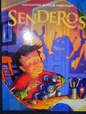 Houghton Mifflin Harcourt Senderos Spanish Student Edition Grade Level 4 2011
