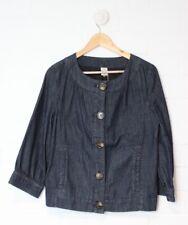 TARGET Soft Blue Denim Jacket 3/4 Sleeved Denim Jacket Size 10