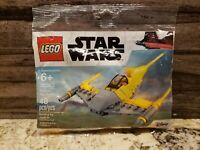 Lego Star Wars Naboo Starfighter Mini Polybag 30383 New