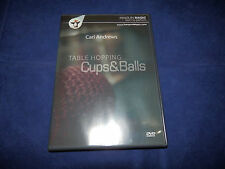 Carl Andrews Table Hopping Cups & Balls Dvd