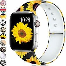 Sunflower Apple Watch 38mm 40mm Replacement Band for iWatch Series 5 4 3 2 1