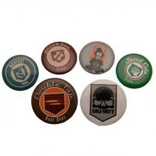 Call Of Duty Button Badge Set Lapel Pin Official Club Merchandise