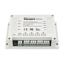 Sonoff 4CH Pro - 4 uscite con funzionamento Inching/Self-Locking/Interlock Inter