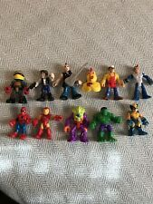 Lot of 10 Imaginext DC Spiderman Figures Wolverine Star Wars Turtle Alien Chicke