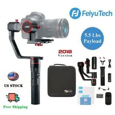 Used Feiyu a2000 3-Axis Gimbal Handheld Stabilizer for Mirrorless DSLR Cameras