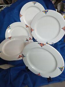 6 x Steelite International Vitrified Albalite Monet Plates  - Catering Quality