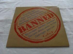 VARIOUS ARTIST BANNED - LISTEN TO THE BANNED ORIG 1984 UK ASV LP AJA 5030