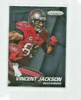 VINCENT JACKSON (Tampa Bay Buccaneers) 2014 PANINI PRIZM CARD #109