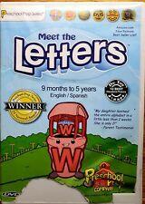 Preschool Prep Series: Meet the Letters (DVD, 2009)