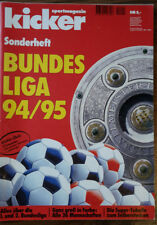 kicker Bundesliga Sonderheft 1994/95