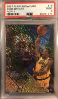 1997 Flair Showcase Kobe Bryant Row 1 PSA 9 MINT