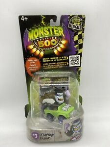 Monster 500 #3 Flattop Frank Experi mentals Car And Card Invasion 1