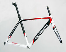 50CM S STRADALLI RED PRO CARBON FIBER ROAD CYCLING BIKE FRAME BICYCLE BB30