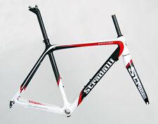 50CM S STRADALLI RED PRO CARBON FIBER ROAD CYCLING BIKE FRAME BICYCLE BB30