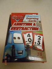 New Disney Pixar Cars 36 Cards Addition & Subtraction w/ answers Stocking Stuffe